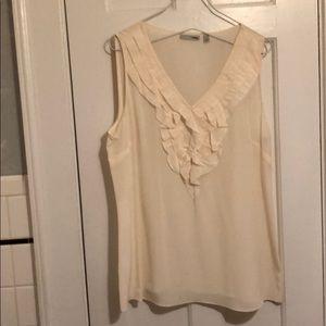 a95b46a5807bda Halogen Tops - Halogen ruffled sleeveless blouse